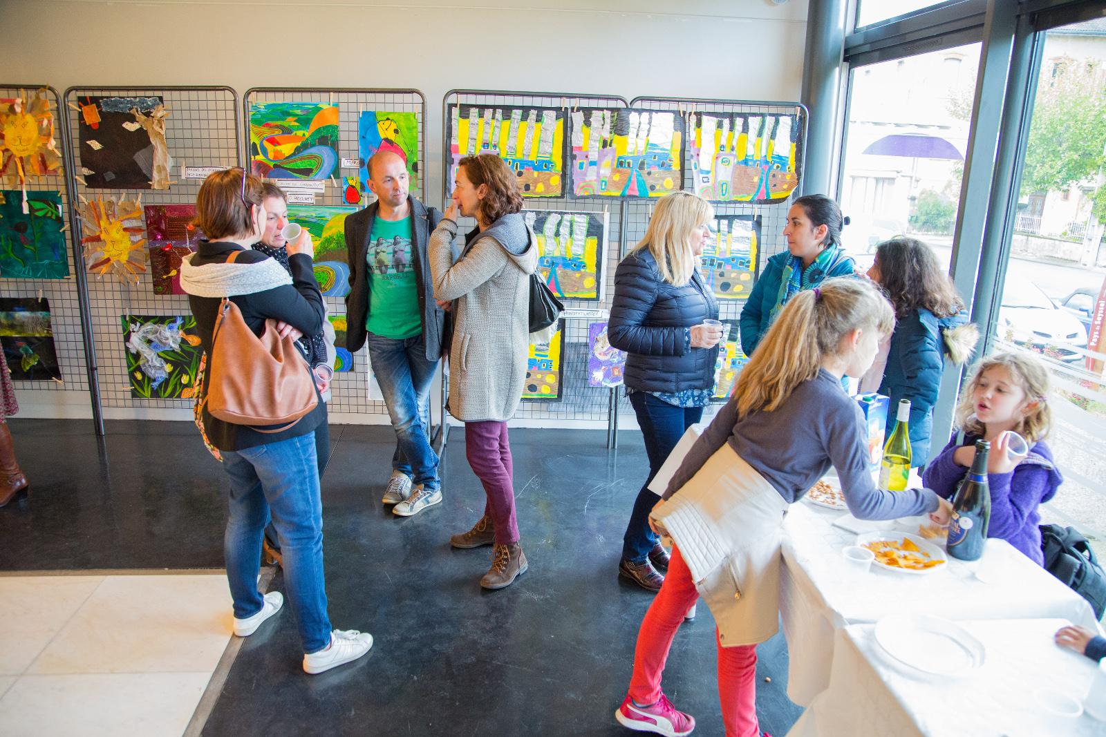 Exposition des ateliers d'Arts plastiques